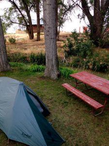 Camping at the KOA in Twin Falls, ID