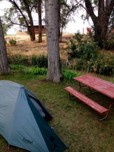 Camping at the KOA in Twin Falls, ID