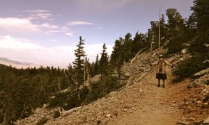 Connecting with his spirit on the trail to the bristlecone pines (Great Basin National Park, NV)